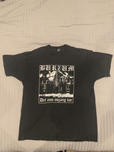 Vintage XL Black Metal Shirt