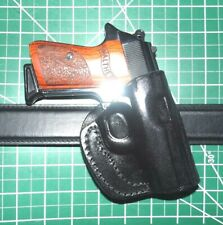 Tagua Right RH Leather Gun Holster Black OWB Fits Walther PPK PPKS 380  Crossdraw