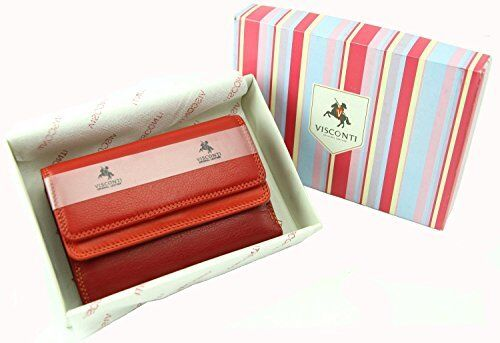 Visconti RB50 Multi Colored Large Wallet Purse Clutch Women Girls ID Card Holder