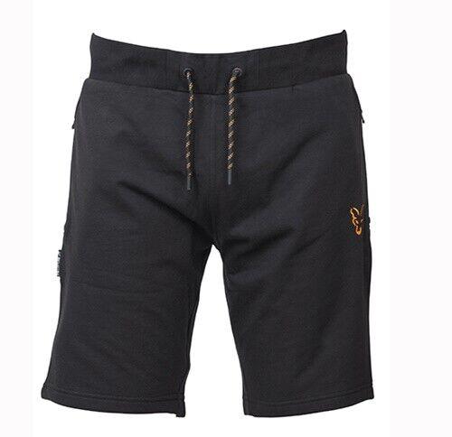 Fox Collection LW Jogger Shorts Black//Orange Gr.XL