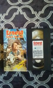 ERNEST-GOES-TO-JAIL-VHS-JIM-VARNEY-JOHN-CHERRY-FILM-AWESOME-COMEDY