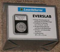 5 Lighthouse Everslab 26mm Graded Coin Slabs Us Presidential/small Dollar Holder