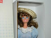 Little Debbie 1992 Barbie Straw Hat Brown Hair