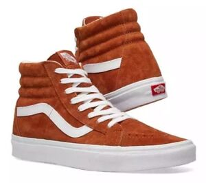 753b91b84e Vans Sk8-Hi Reissue Suede Leather Brown Skate Shoes Men s Size 11.5 ...