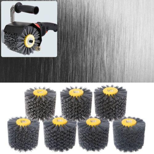 Deburring Abrasive Round Wire Drawing Brush Head Grinding Polishing Buffer Wheel