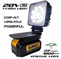 Dewalt Adapt Work Light 18v Or 20v Max Compact Powerful Torch Light Floodlight