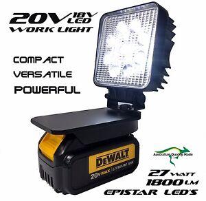 Dewalt Adapt Work Light 18v 20v Max Compact Torch Light