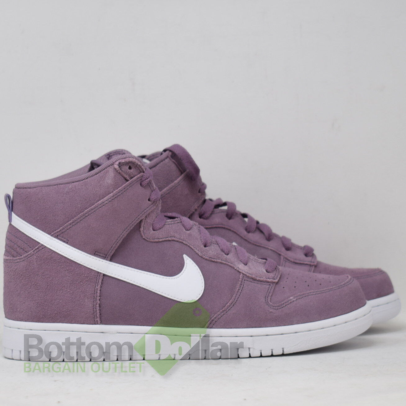 Nike Dunk High Top Men's shoes purple Dust White 904233-500 (9.5)