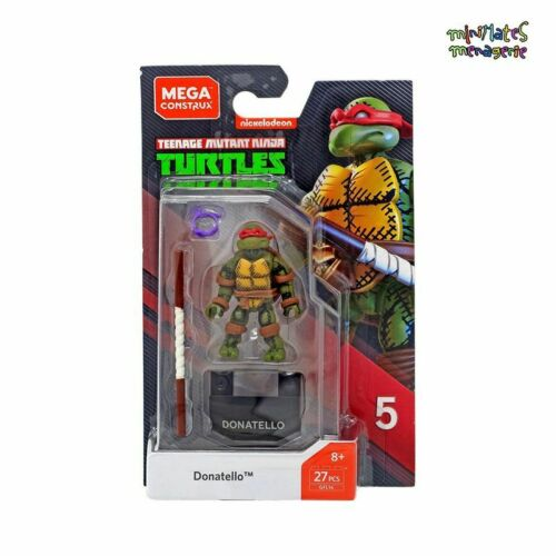 Mega Construx Heroes Series 5 Teenage Mutant Ninja Turtles Teenage Mutant Ninja Turtles Donatello