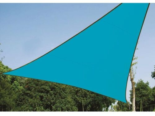 VOILE OMBRAGE Toile solaire triangulaire 3.6 x 3.6 x 3.6m REF GSS3360BL