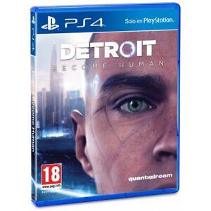 DETROIT BECOME HUMAN PS4 VIDEOJUEGO FÍSICO PARA PLAYSTATION 4 DE QUANTIC DREAM