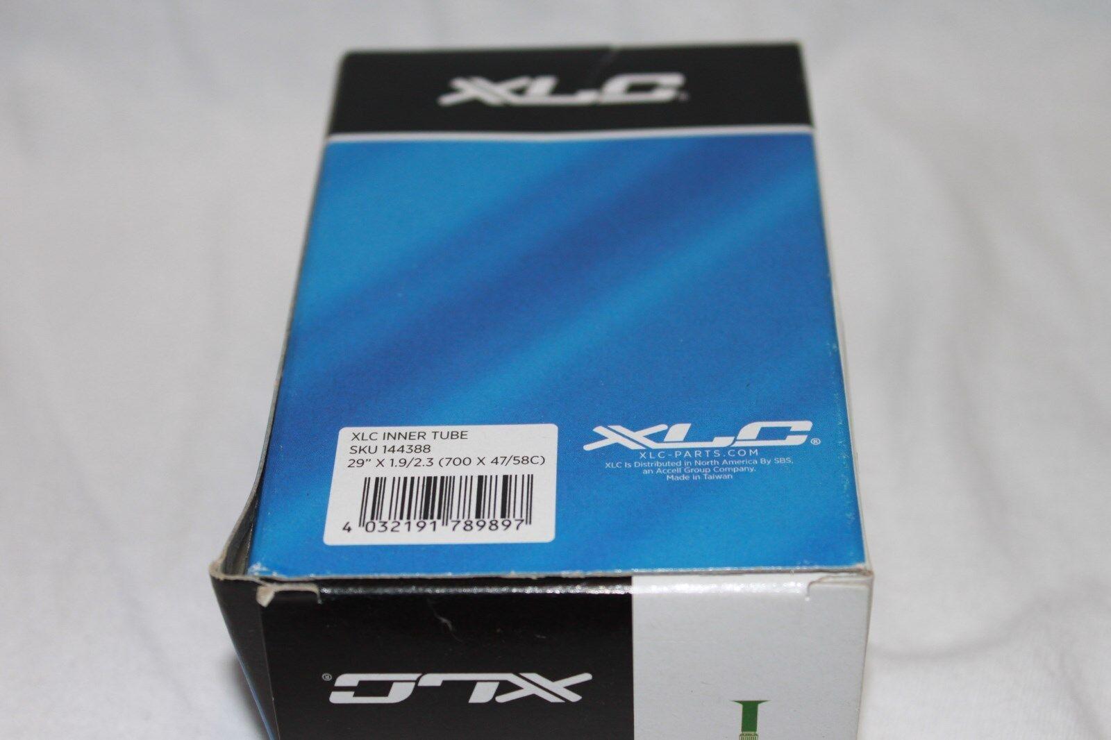 2pc XLC 700 x 35-43C 48mm Presta Valve Bicycle Bike Inner Tube 700 x 1-3//8