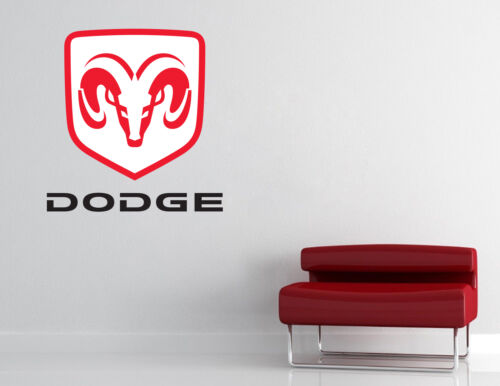 Dodge Logo Wall Decal Sport Truck Car Vinyl Sticker Art Decor EXTRA LARGE L280