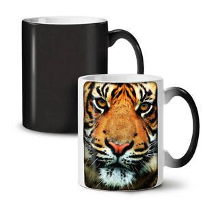 Tiger Face Nature Animal NEW Colour Changing Tea Coffee Mug 11 oz   Wellcoda