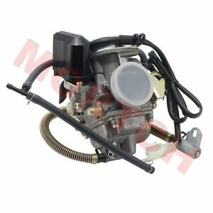 GY6-125cc-150cc-Keihin-Carburetor-Assy-PD24-For-Motorcycle-Scooter-Moped-ATV