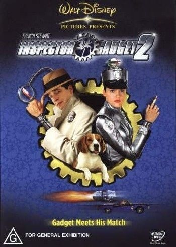 1 of 1 - Inspector Gadget 02 (DVD 2003) Region 4 Disney Comedy DVD Rated G Good Condition