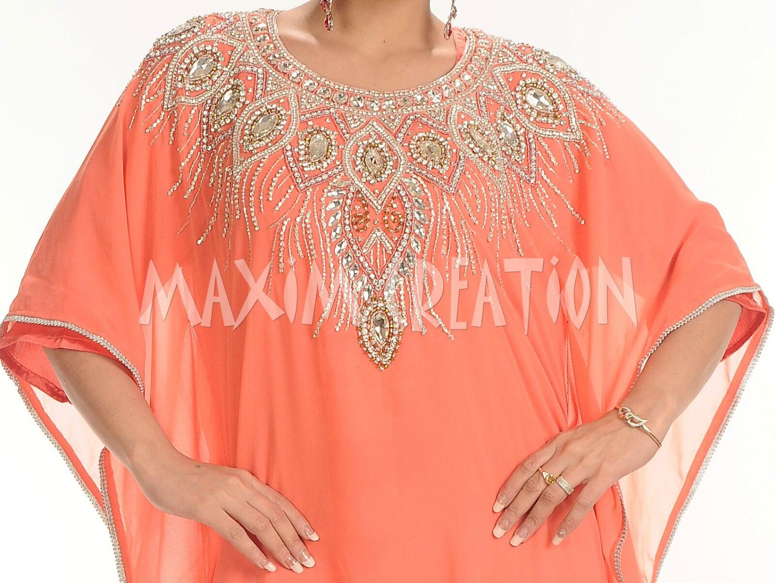 ROYAL Mgoldccan Caftan Kaftan abaya jalabiya Ladies Maxi Dress Wedding Wedding Wedding dress 4184 2529f8