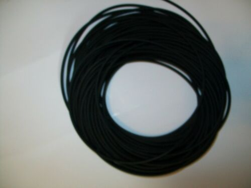 "100 Continuous Ft. 116"" I.D x 132"" w x 18 O.D >> Latex Rubber Tubing Black"