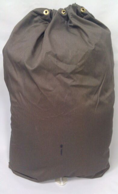 5 Heavy Duty 30x40 Canvas Laundry Bags With 6 Brass Grommets Dye Stains