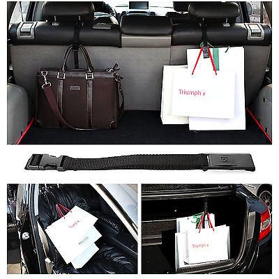 Multi Purpose Clip Car Truck Suv Cargo Trunk Inside Bag Holder Seat Hook Belt