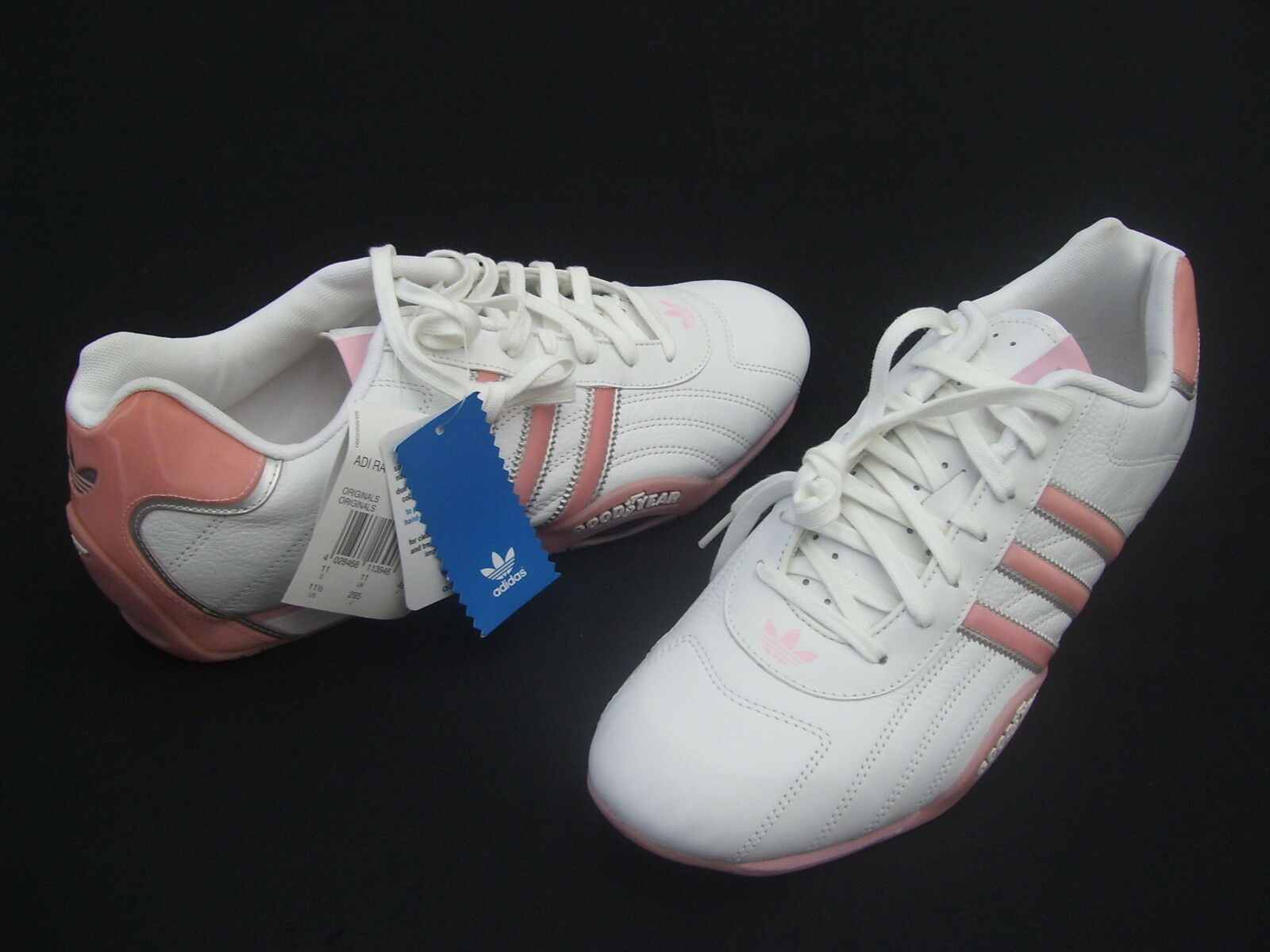 ADIDAS ADI RACER LOW ORIGINALS GOODYEAR LADIES CASUAL TRAINERS SHOES   11.5 NEW