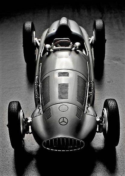 1 Mercedes Antiguo Vintage SPORT RACE CAR 18 Racer 43 enano 24 Metal 12 SL 300