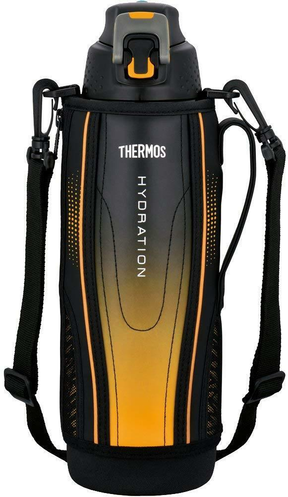 Thermos water bottle vacuum insulation sports bottle one touch open type 1.5 New