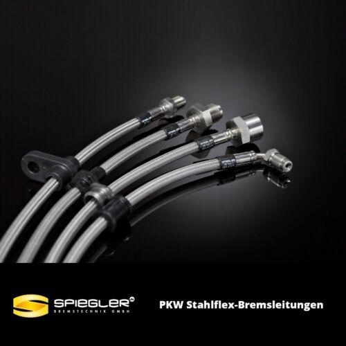 233 PS, A8-4E 3.0 TDI quattro SPIEGLER PKW Stahlflex-Bremsleitung für Audi