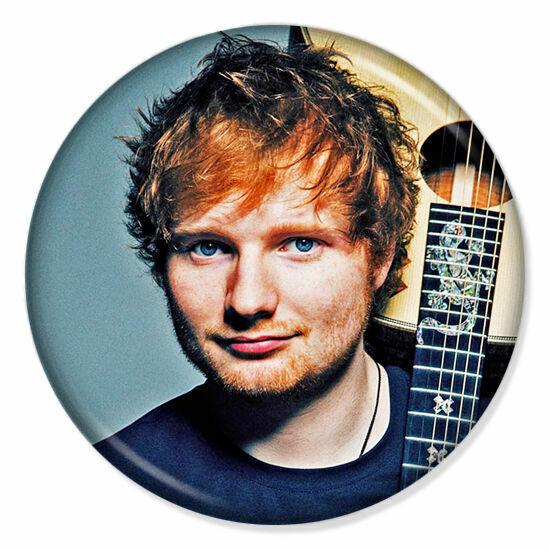 """BUTTON BADGE 25MM//1/"""" D PIN GREAT GIFT FOR FAN #CD34 ED SHEERAN ALBUM"""