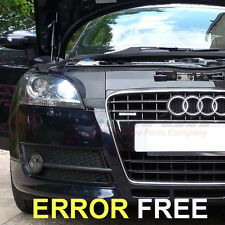 *AUDI A3 S3 A4 A6 Q7 XENON WHITE LED SIDELIGHT BULBS CANBUS ERROR TT