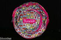 Tamagotchi Round (pink Trim) Vinyl Backpack 1997 Bandai