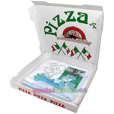 """♥ Windelpizza """"Badespass Räuber"""" ♥ tolles Geschenk zur Geburt, Windeltorte"""