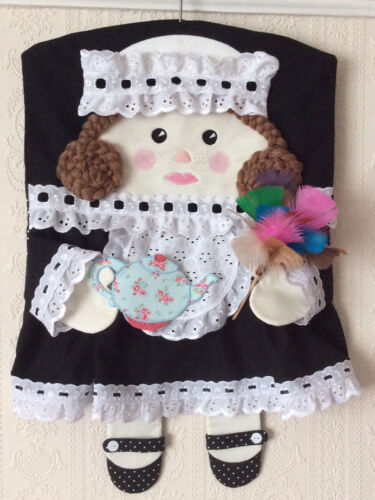 QUILTING MOLLY MAID PEG BAG WITH TEAPOT SEWING PATTERN by Gail PATCHWORK