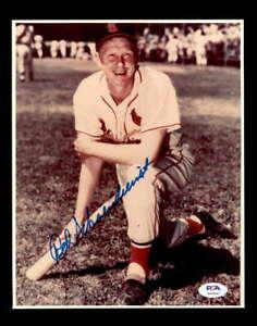 Red-Schoendienst-PSA-DNA-Coa-Hand-Signed-8x10-Cardinals-Photo-Autograph
