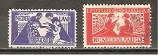 NVPH Nederland Netherlands 134-135 used 1923 Tooropzegels Pays Bas