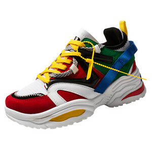 Womens-Outdoor-Casual-Athletic-Sneakers-Breathable-Walking-Sports-Shoes-Running