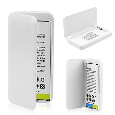 Portable Spare Battery Backup Power Charger Box Fr Samsung Galaxy S4/S5 Note 3/4