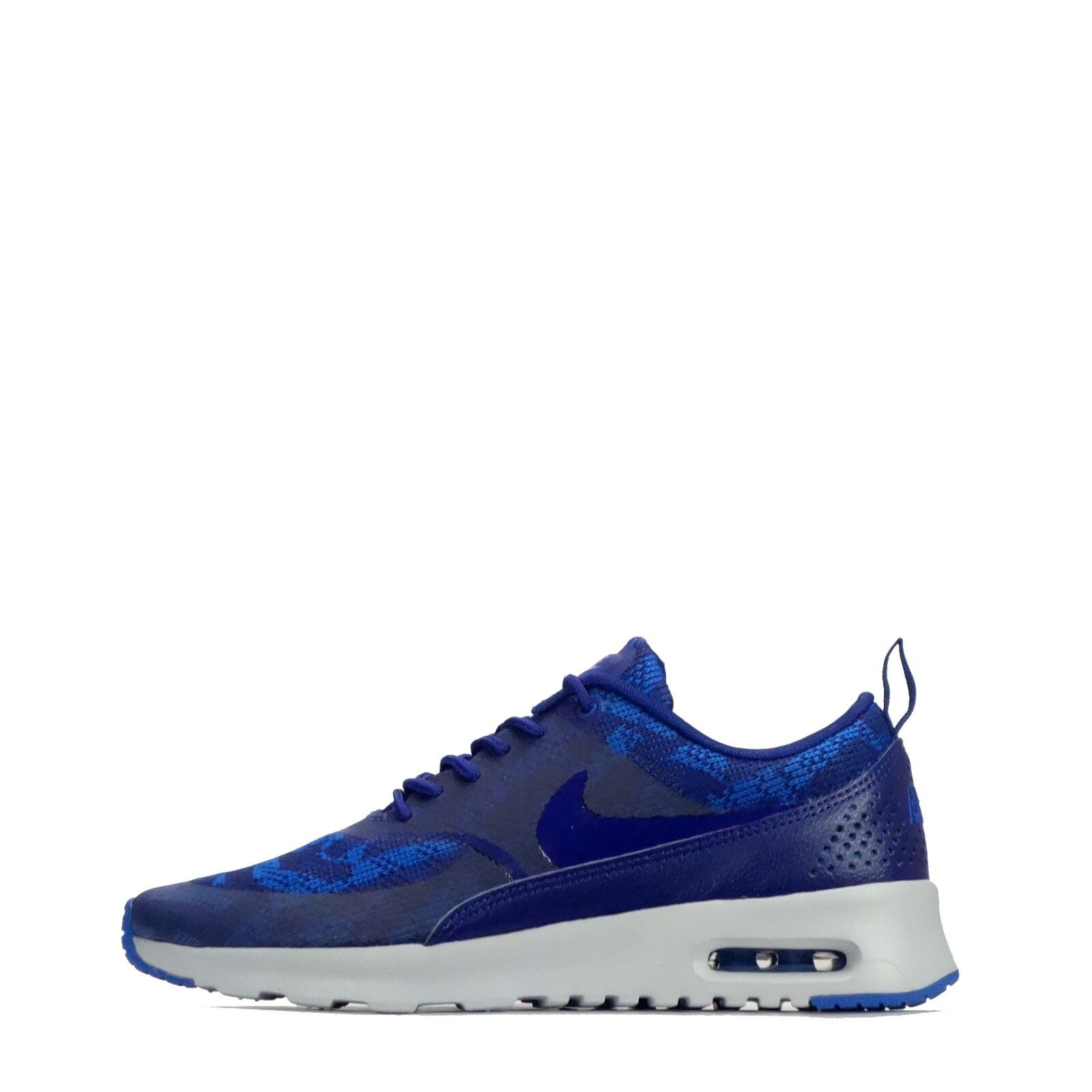 Zapatos promocionales para hombres y mujeres Nike Air Max Thea Jacquard Women's Trainers Shoes Royal Blue