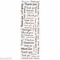 Woodware Frs325 Thank You Lots Clear Stamp 7 7/8 X 2.5