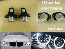 2x6W High Power BMW Angel Eyes E90E91 3 Series LED Lights Ring Bulbs White Halo