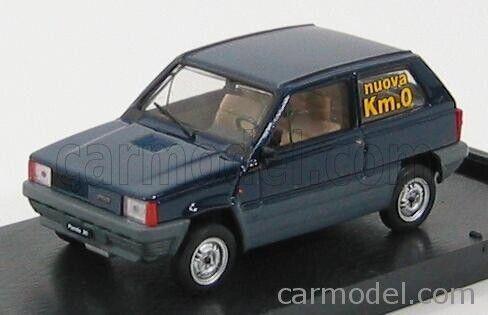occasione km.0 blue Brumm r386-02k0 scala 1//43 fiat panda 30 1 series 1980