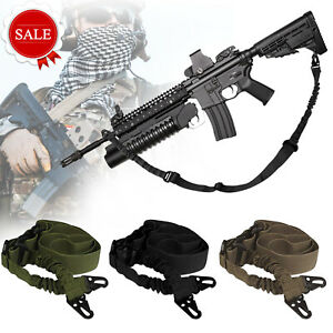 Tactical-2-Point-Gun-Sling-Shoulder-Strap-Outdoor-Rifle-Sling-With-Metal-Buckle