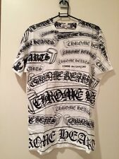 Authentic Chrome Hearts X Comme Des Garcons White T-Shirt