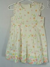 GAP baby cream flower floral 12-18 months sun dress