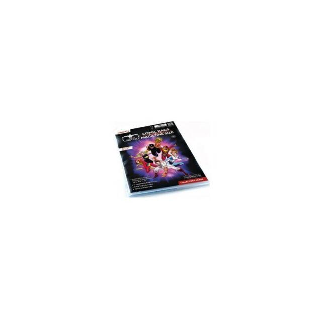 100 POCHETTES COMICS REFERMABLES (MAGAZINE SIZE)--ULTIMATE GUARD--