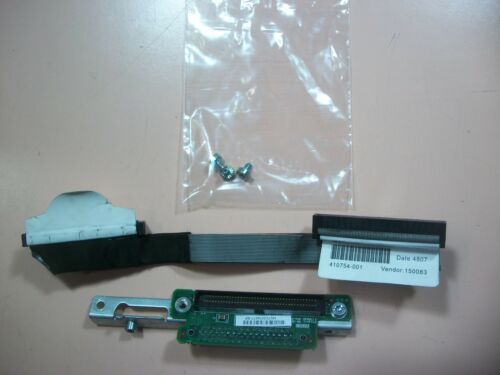 HP 412202-001 Proliant DL360 G5  Multibay Media Backplane w// Cable 410754-001