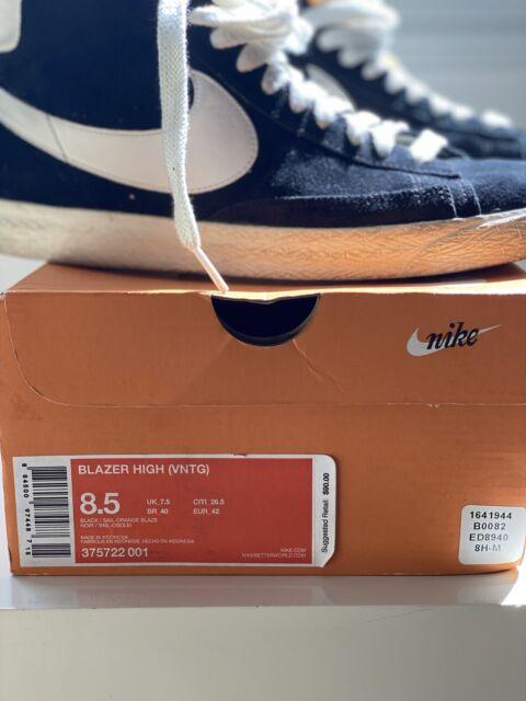 Size 8.5 - Nike Blazer High Vintage ND