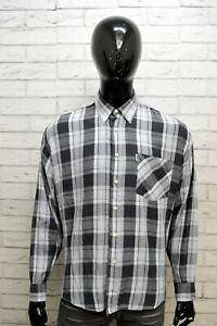 Camicia-Uomo-FILA-Taglia-Size-XL-Chemise-Maglia-Shirt-Man-Stretch-Cotone