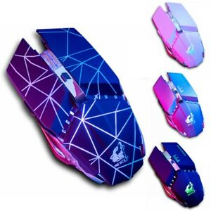 1600DPI Wireless Gaming Mouse LED Optical Mute USB Mice for PC Laptop Computer