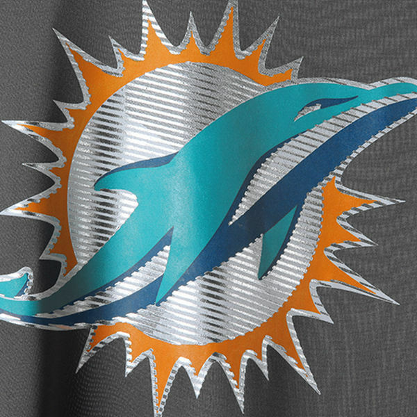NFL Miami FOOTBALL COOL base T-shirt Miami NFL Dolphins Logo Tech synthetic b3f4d9
